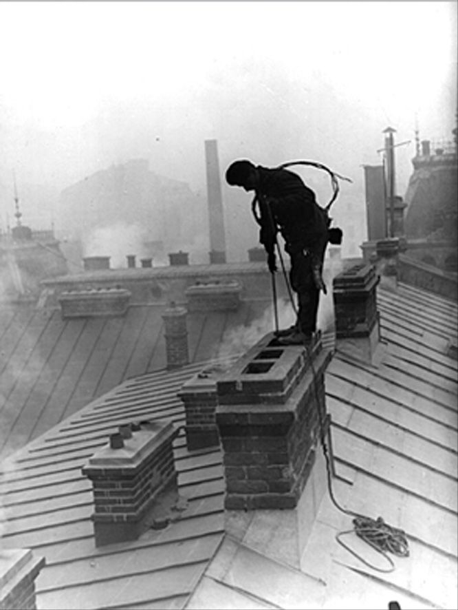 Chimney sweep - Victorian