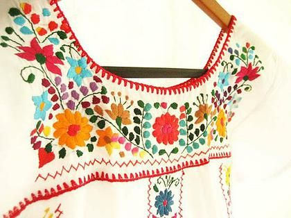 Mexican embroidery class