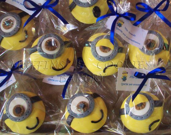 Minions Muffins  / Cupcakes