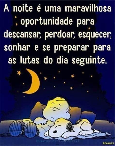A noite. ..