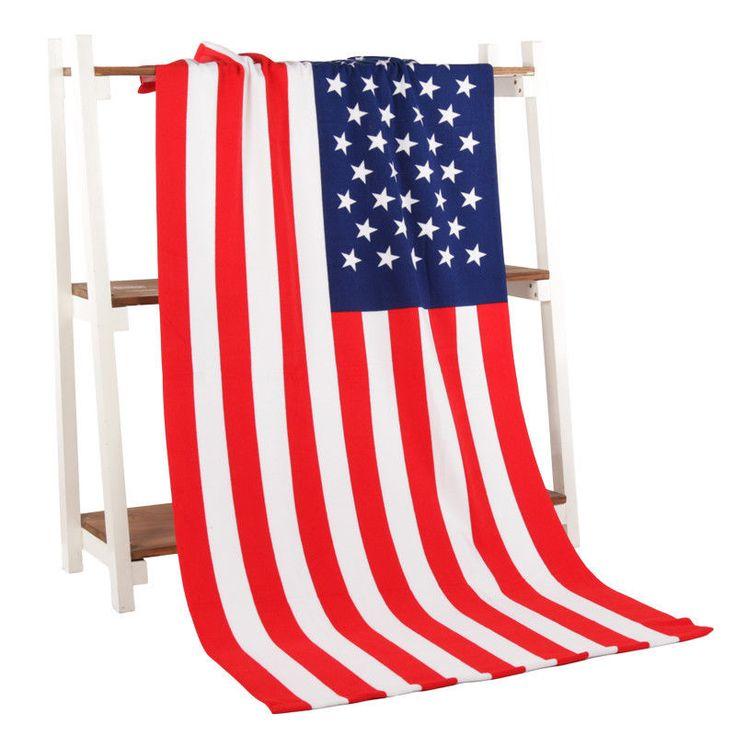 Beach Towel USA flag UK FLAG New Microfiber Bath Towels For Adults Flag Big Pri | eBay