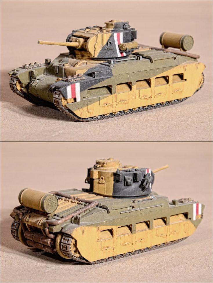 British tank Matilda Mk4 (1:35)Tamiya)by Military Uniform (@historyuniform) | Twitter #tanks #panzer #british #army #desert #miniature #modelkit #military #warfare #ww2 #militaria #matilda #desertoperation