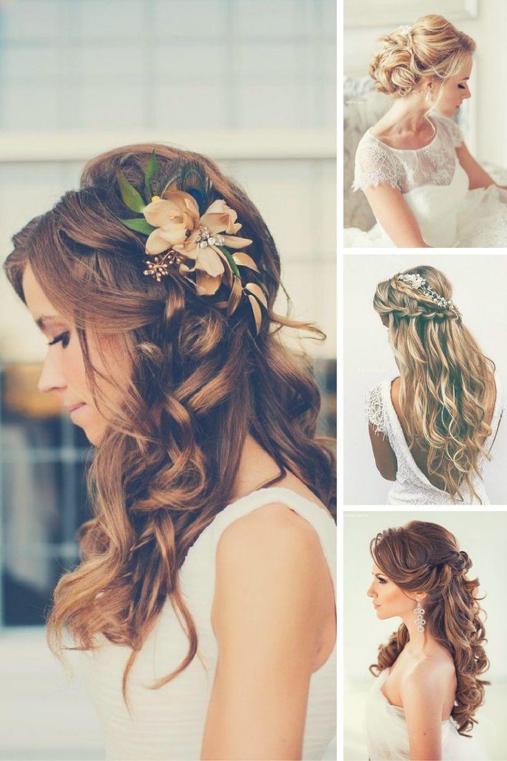 5 estilos de peinado de novia para pelo largo > https://www.bodas.net/debates/5-estilos-de-peinado-para-pelo-largo--t300439