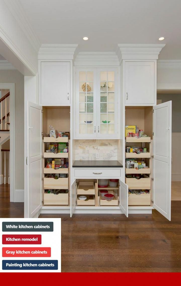 Kitchen Cabinets Blue Walls Built In Pantry Kitchen Cabinets Decor White Kitchen Pantry Cabinet