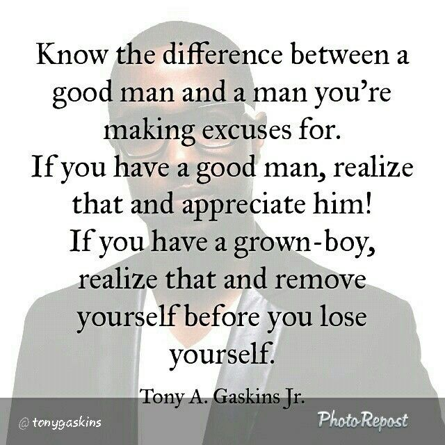 Good Men Quotes And Sayings: Know The Difference Between A Good Man And A Man You're