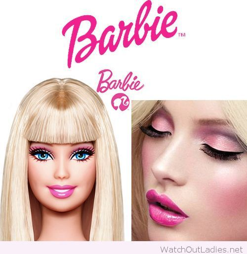 Adult Barbie Halloween look