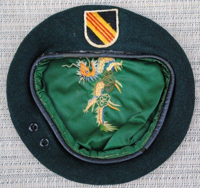 5th Special Forces Group Vietnamese Dragon Green Beret