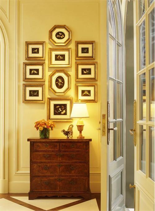 Elegant Traditional Foyer by Suzanne Tucker on HomePortfolio