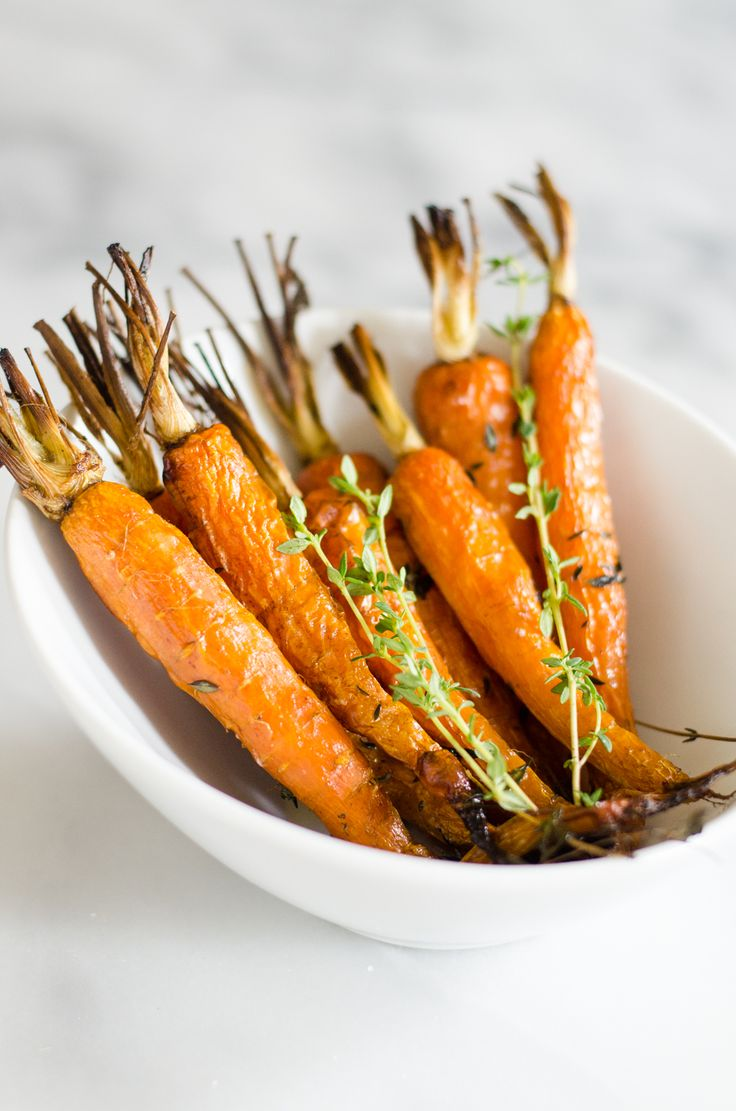 How to Roast Carrots + make them more interesting! from @ericalea