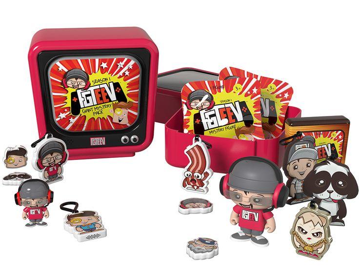 FGTeeV Giant TV Mystery Pack Season 2 Giant Mystery TeeV