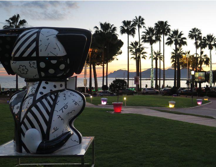 Les jardins du Grand Hôtel à Cannes : un endroit préservé, un havre de paix au beau milieu de la Croisette