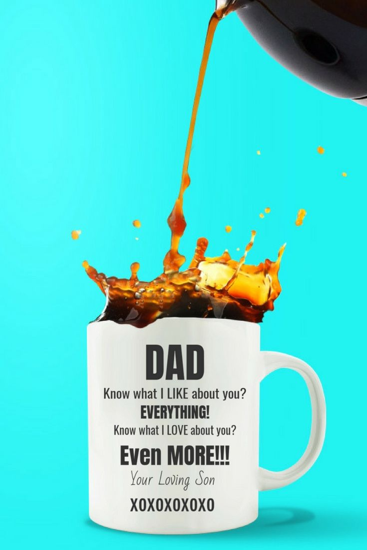 DAD I Like EVERYTHING About You from SON. Great Gift for Dad or Step-Dad. Check it out!