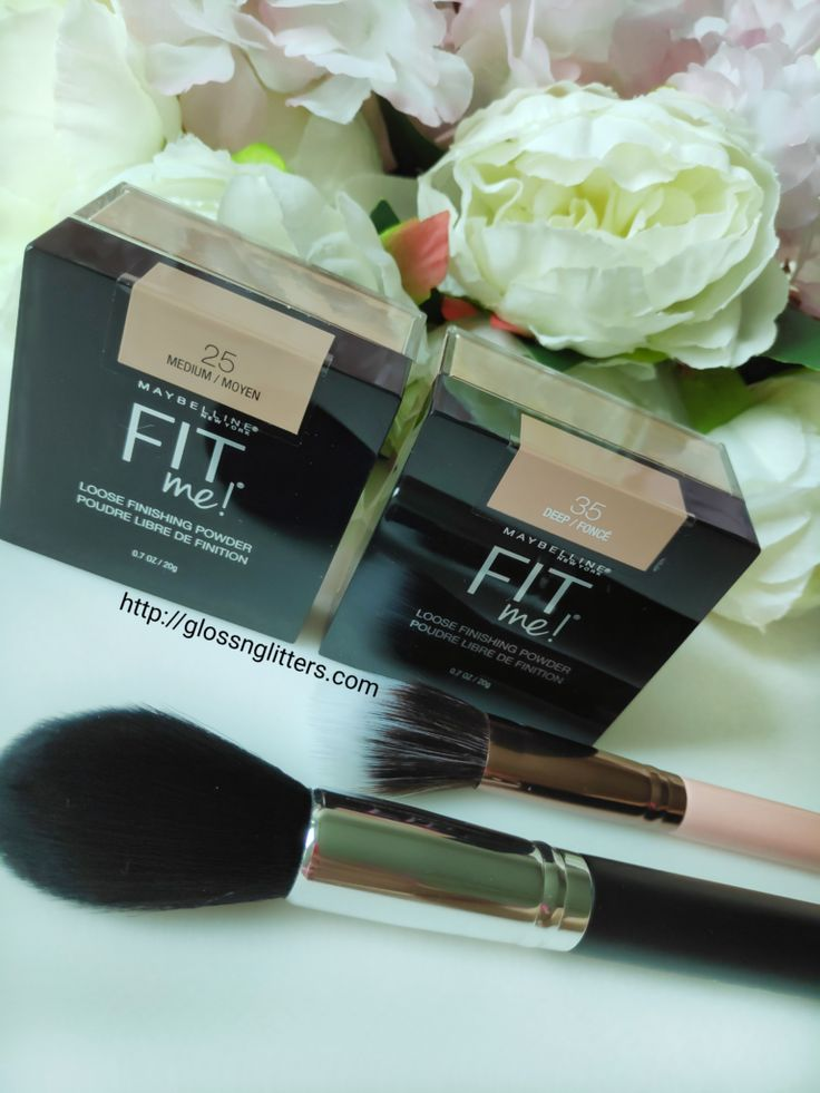 Maybelline fit me loose finishing powder review