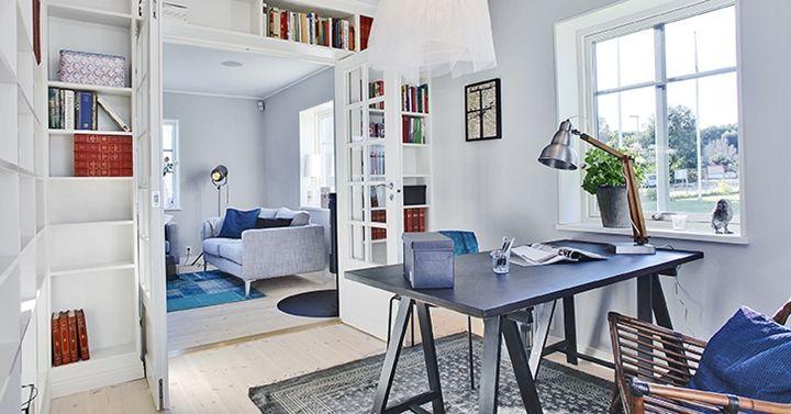Inspiration till ditt kontor & arbetsrum   A-hus