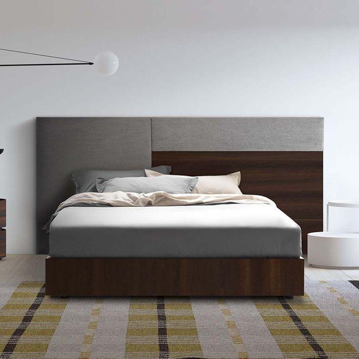 Изголовье кровати для двуспальной кровати / современное / из ткани / деревянное BOISERIE S181 PIANCA