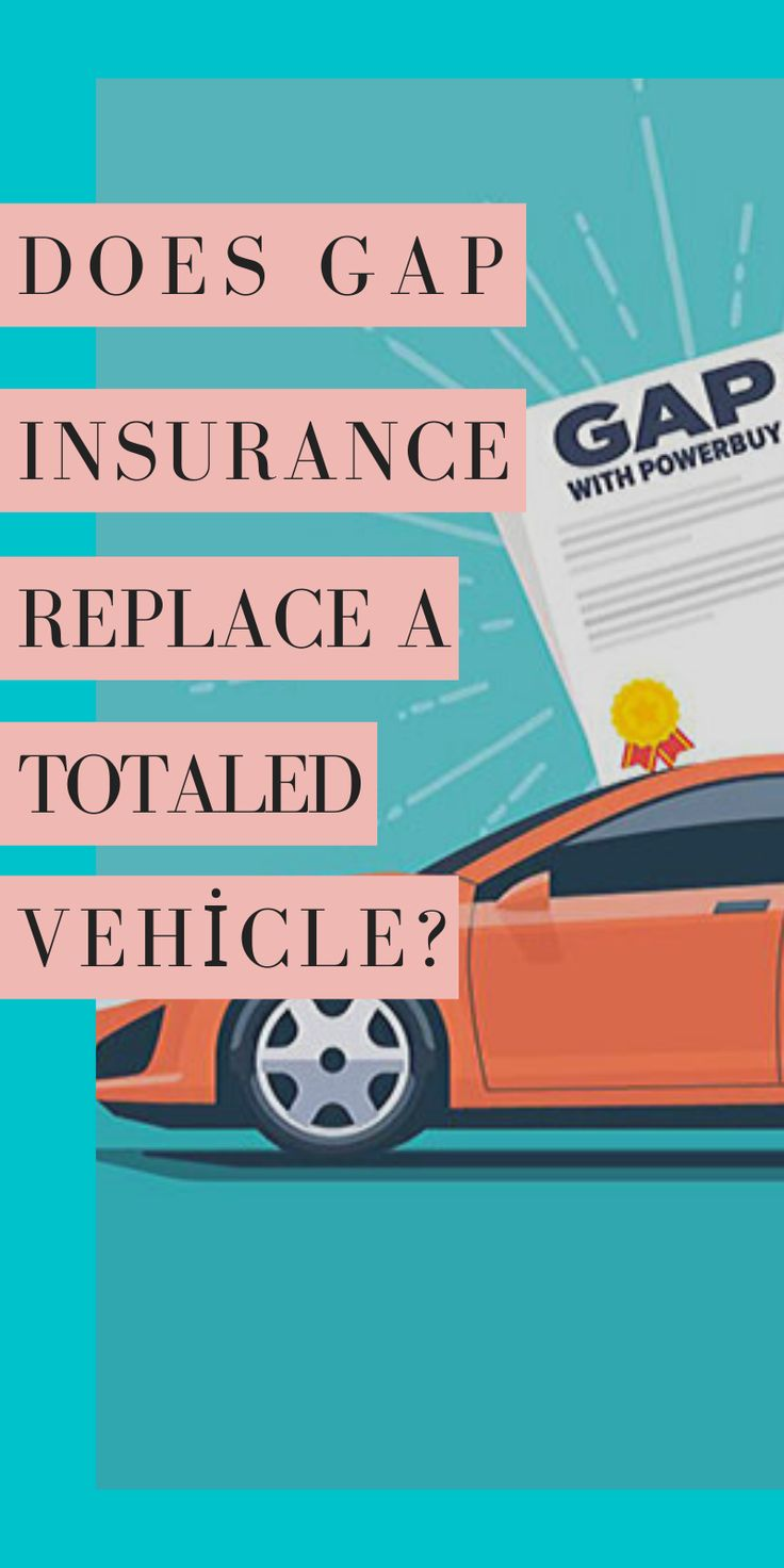 Does gap insurance replace a totaled vehicle in 2020