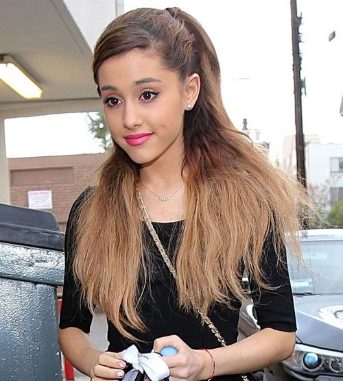 Ariana Grande Hairstyle - YouTube