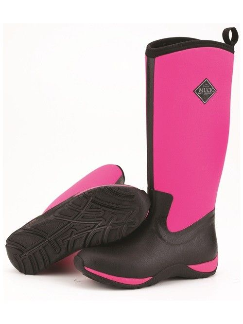 Ladies lightweight neoprene welly with added fleece lining for extra warmth - suitable for use at temperatures as low as -29C.