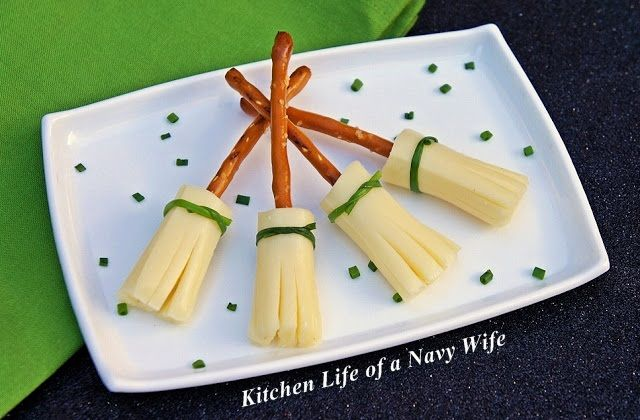 The Kitchen Life of a Navy Wife: Halloween Week ~ Broom Sticks