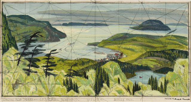Artwork Page: Sibley Park, View C2 - Canadian Paintings in the Thirties