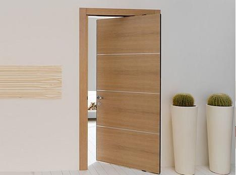 Imagine using half as much space for a doorway yet being able to open it in both directions - and all on smooth invisible track with concealed inset hinges that doors seem to float on air. This brilliant door hinge system is so simple and useful it seems uncanny that similar home hardware not us ...