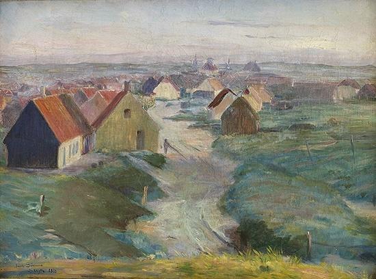 Jacob Kielland Sømme (1862-1940): Skagen, 1890