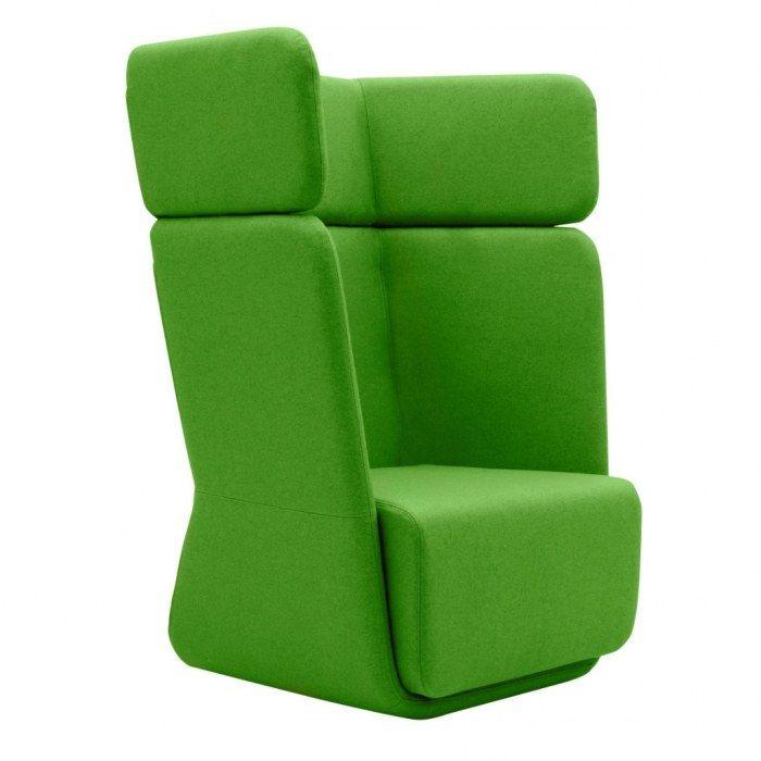 Softline Loungestoel Basket Chair hoge rug  2-579 1