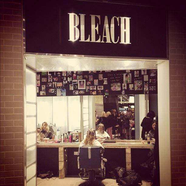 Get my hair done at BLEACH London