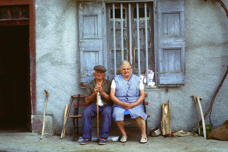 Auch - Frankrijk. 2 mooie oude mensen