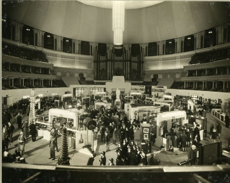 The Faraday Centennial Exhibition at the Royal Albert Hall was organized by the Institute of Electrical Engineers (now the IET) in 1931 in commemoration of Michael Faraday's discovery of electromagnetic induction in 1831. Images from the IET archives. #histSTEM #archives #exhibitions #ideas