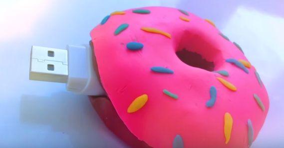 Okula Dönüş Donut Usb Bellek - http://m-visible.com/okula-donus-donut-usb-bellek.html