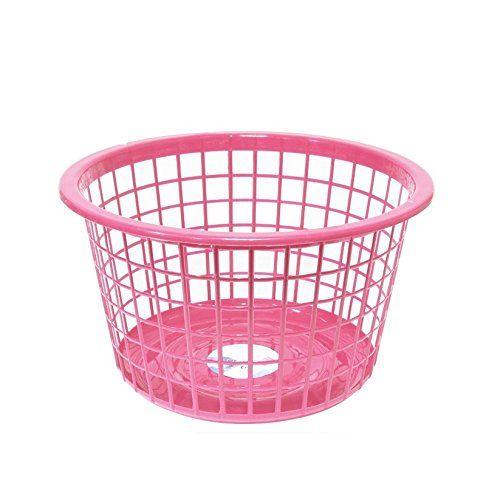 Wäschekorb Kunststoff rund, rosa, Rosa Unbekannt http://www.amazon.de/dp/B018IEJ7N0/ref=cm_sw_r_pi_dp_RUrKwb0GTHS1F