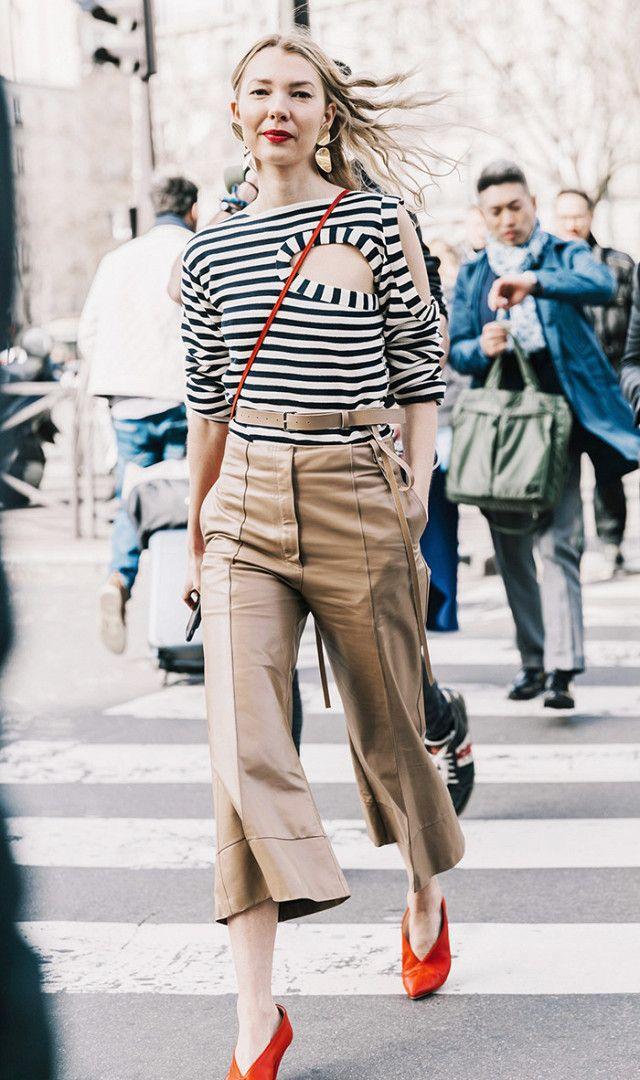 Khaki pants are cool again
