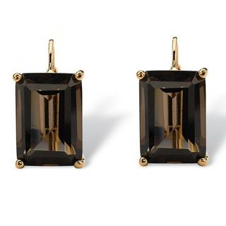 Shop for 14k Yellow Goldplated Smokey Quartz Earrings and more for everyday discount prices at Overstock.com - Your Online Jewelry Store!