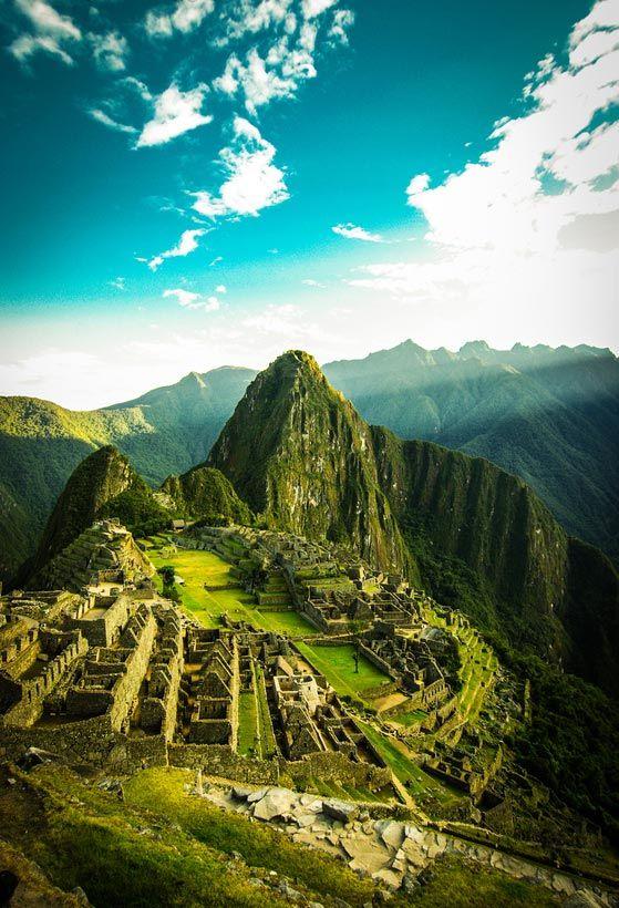 1. Machu Picchu, Pérou
