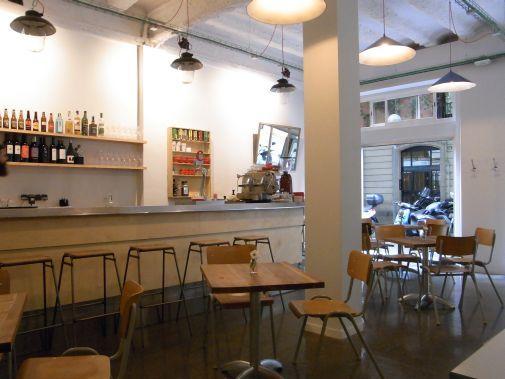 Inside Caravelle, Barcelona food blog, Claire Gledhill