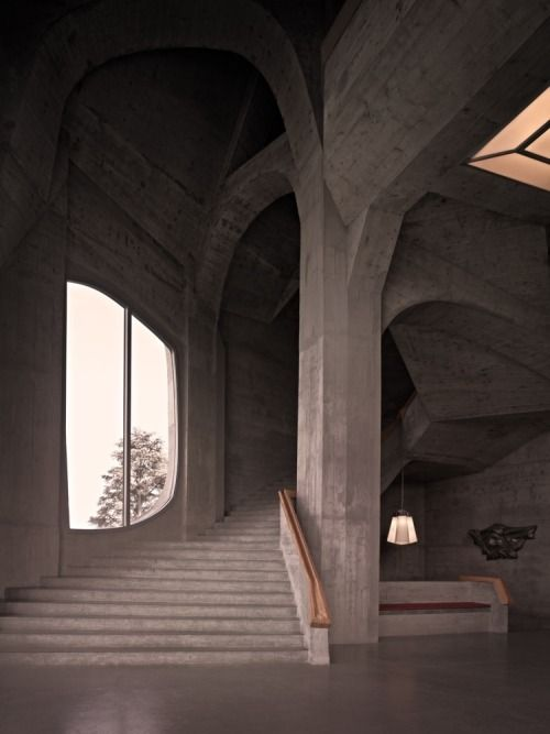 Studio Christoph Sagel: Goetheanum Dornach, Switzerland.