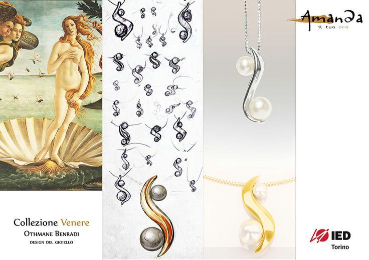 Amanda: Oro e Perle. Venere. IED Torino, Castoro Gioielli