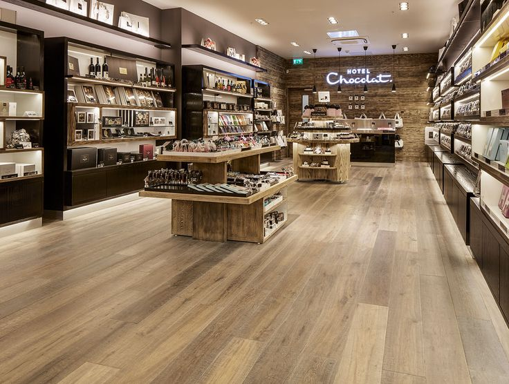 Project: Hotel Chocolate, UK. Havwoods Product: Oak Dryden reproduction reclaimed engineered timber flooring from the Havwoods Relik range.