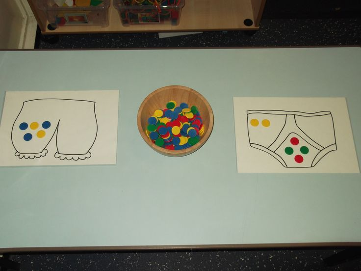 Aliens love Underpants pattern making activity. Laminated pants and counters!