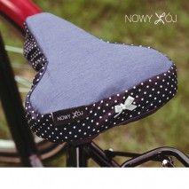 Bike seat cover by nowykroj.pl