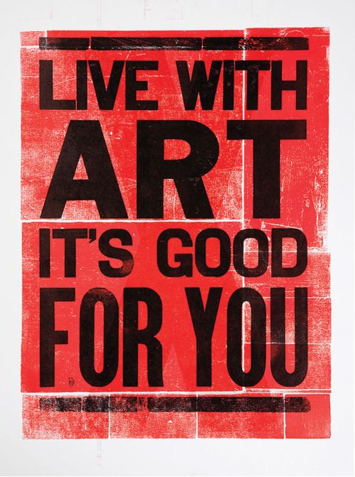 Live with art