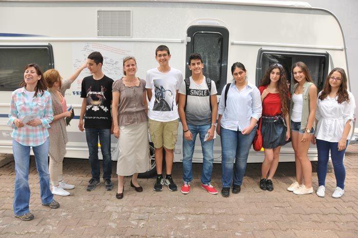 Rückreise über die Dardanellen nach Wien