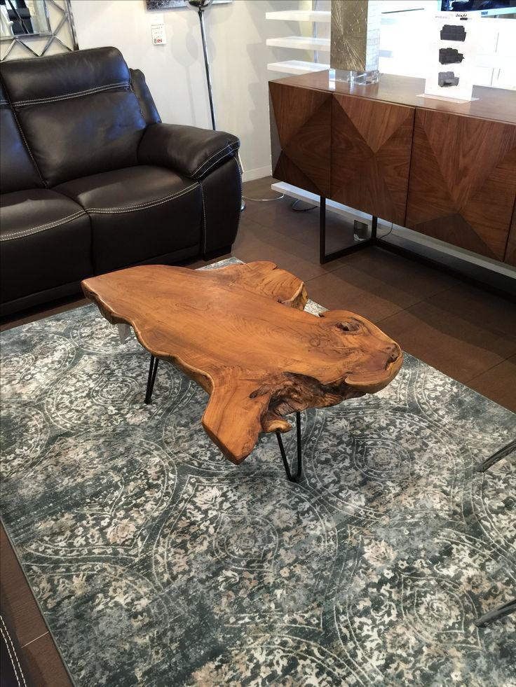 Natural Teak Coffee table stylecraft IDW82658 Scandinavia Furniture Inc  Metairie New Orleans Louisiana Contemporary