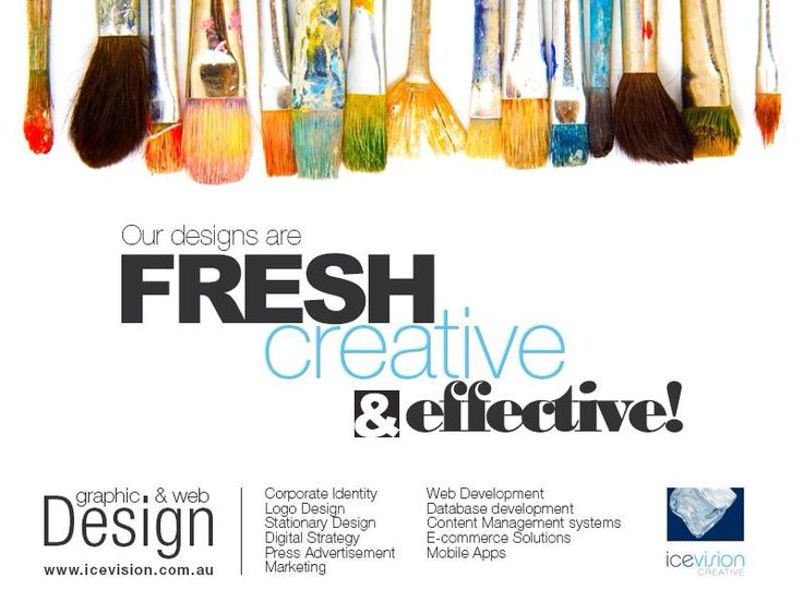 Graphic Design | Web Design | Printing Fresh creative & effective!