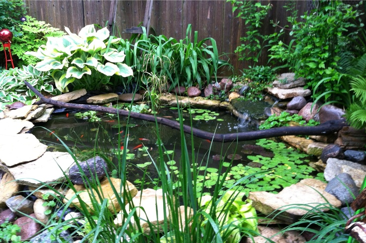 how to waterproof a fish pond