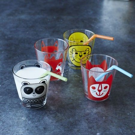 Animal Glass Tumblers - Kids - Gifts For... - Gifts