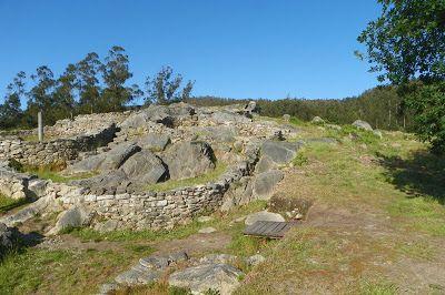 Yacimientos de Castro Landin - Cuntis - Turismo Enxebre