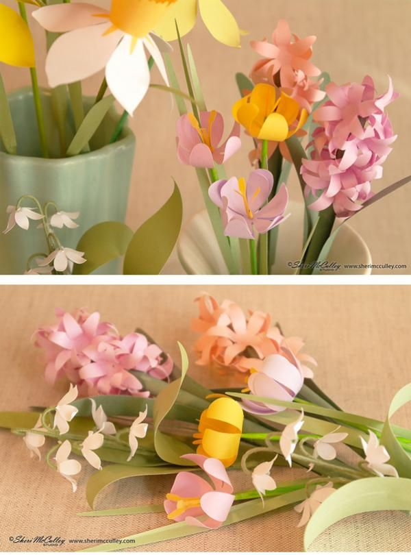 Lettering Delights - Even more Easter Cut Flowers
