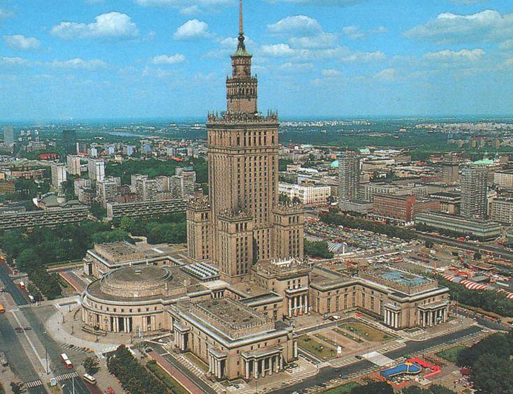 Lew Rudniew- Pałac Kultury i Nauki w Warszawie  SOCREALIZM